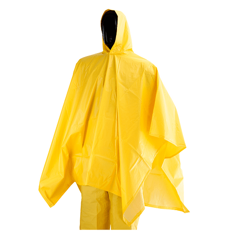 Poncho Impermeable 1.45 x 2 Mts Amarillo