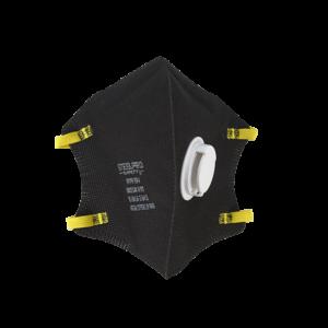 Respirador M9910 Con Valvula Plegable Negro N95