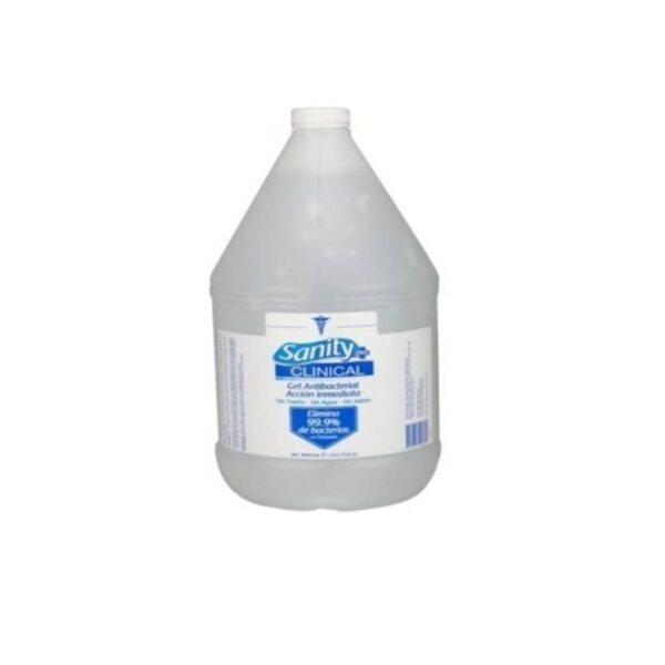 Gel Antibacterial Sanity 4000ml Alcohol 65%