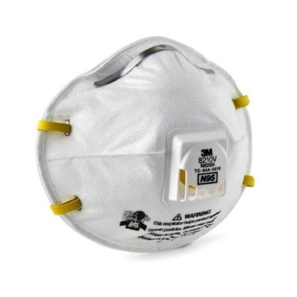 Respirador 3M 8210 Con Válvula N95