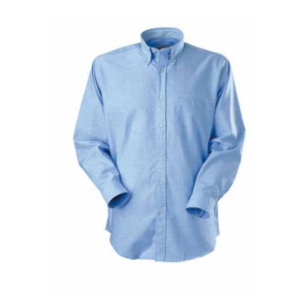 Camisa Oxford Manga Larga Azul Cielo