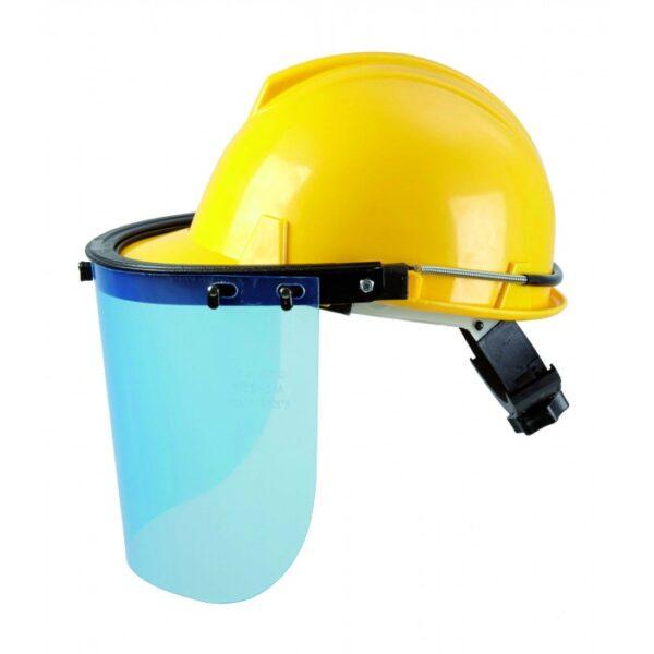 Casco Con Protección Facial