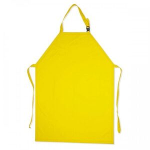 Delantal En Pvc Amarillo Calibre 18