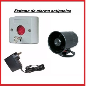 Sistema De Alarma Emergencia Antipánico